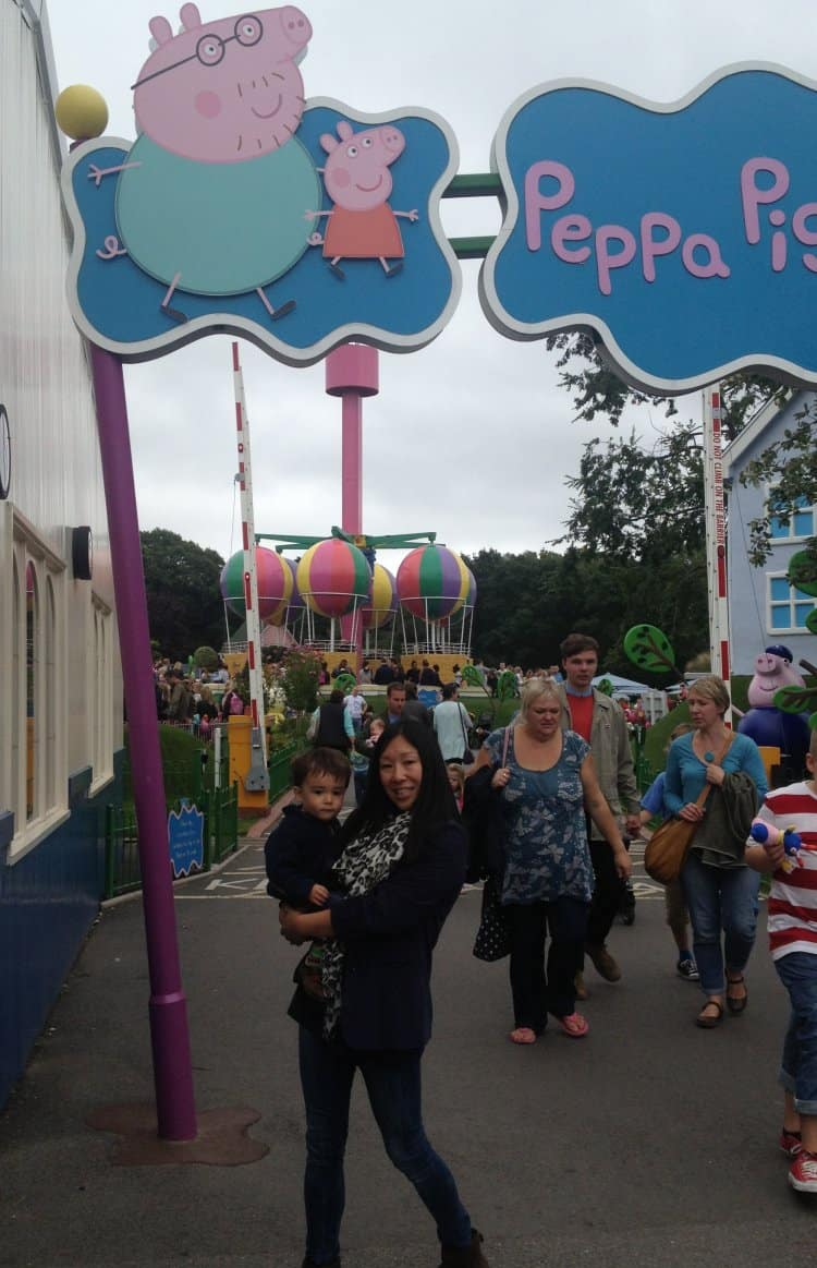 A Family Day Out at Peppa Pig World, Paultons Park, Hampshire