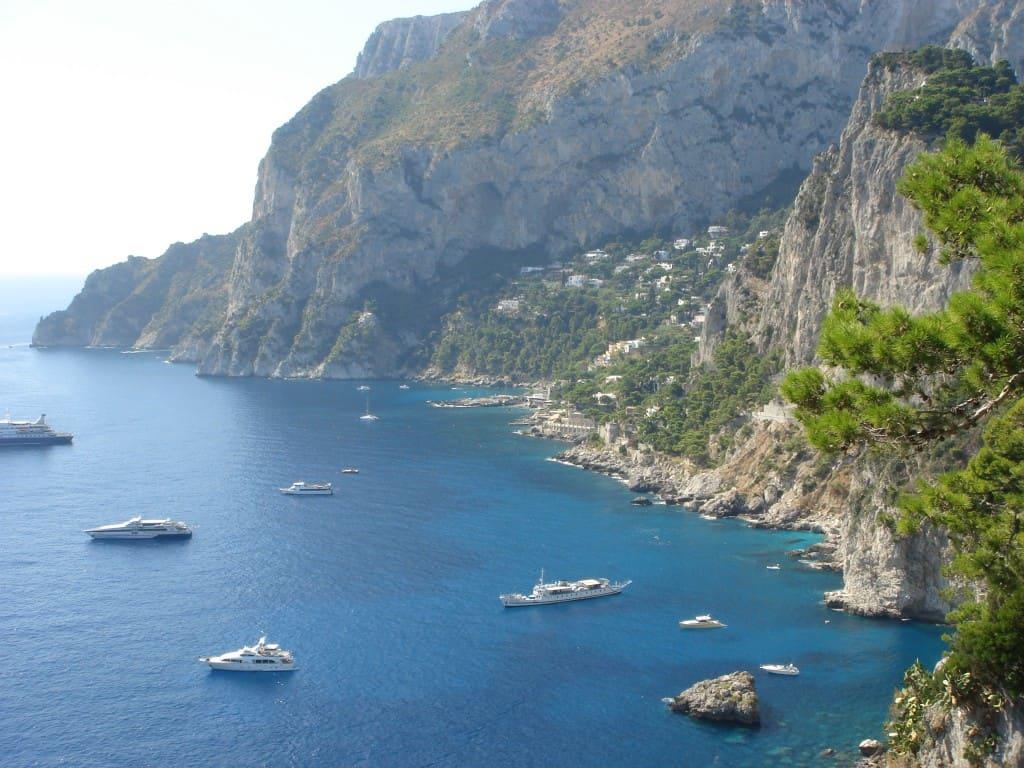 View from Capri   My Travel Monkey