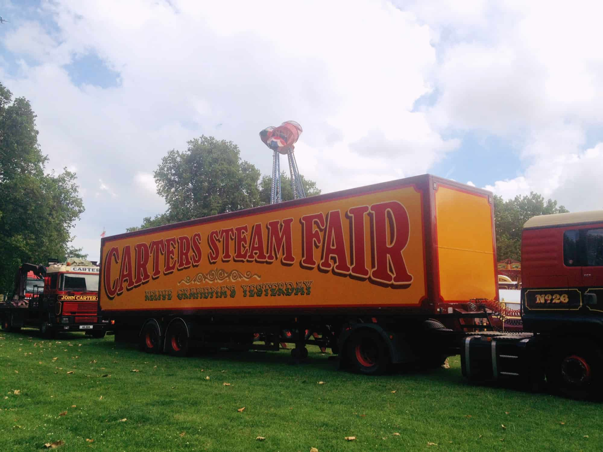 Family Fun at Carters Steam Fair