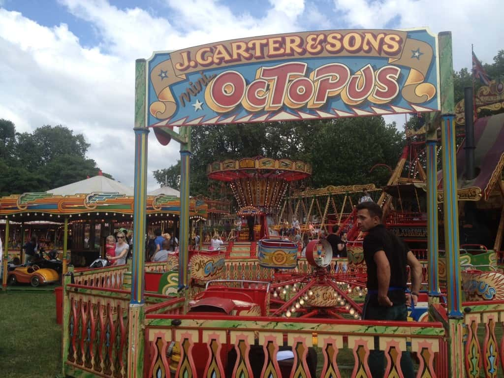 Octopus Ride at Carters