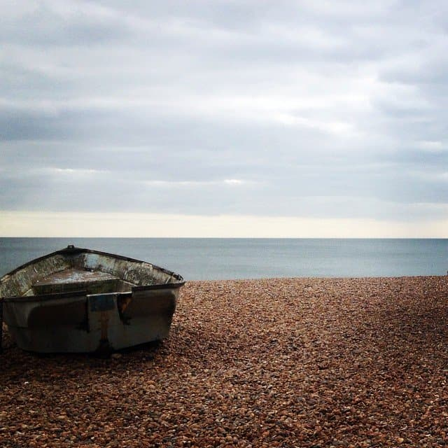 There's nothing better than looking out onto the sea. A captured moment on our stroll along #Brighton beach. #Instatravel #Trip #Instapics #Sussex #Travelgram #TravelPhotography