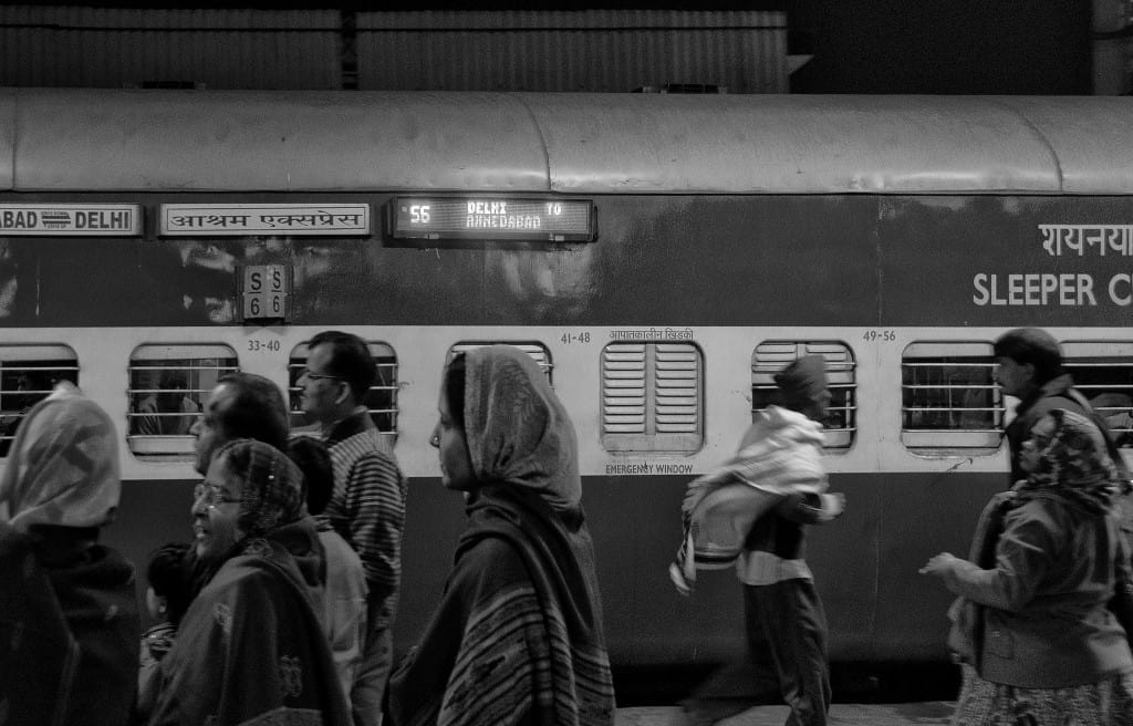 An Indian Train Station | My Travel Monkey