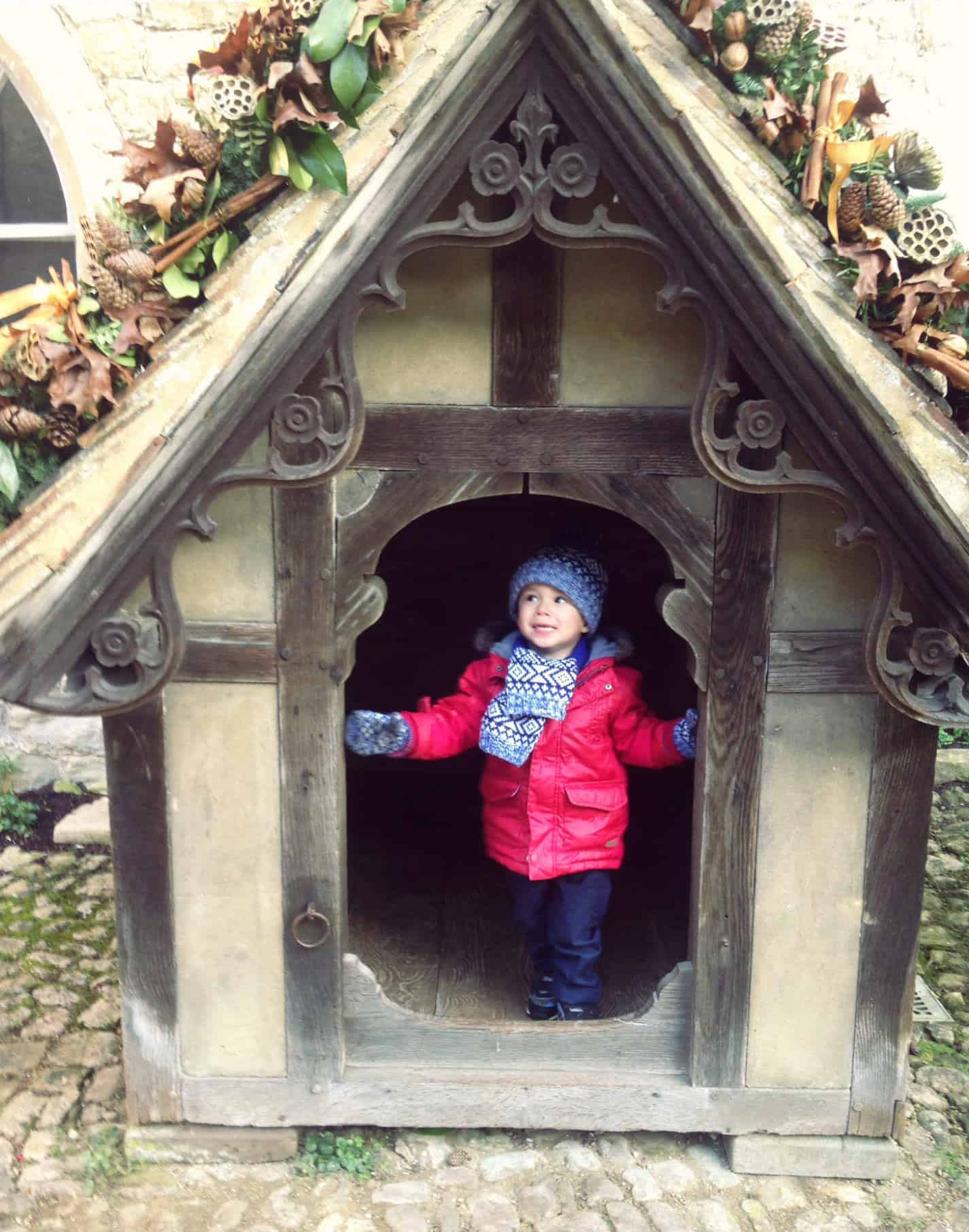 Dog Kennel at Ightham Mote | My Travel Monkey