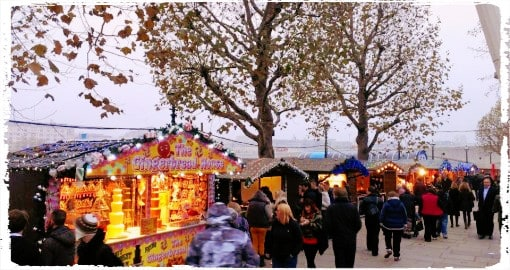 A Day Out at Southbank's Winter Festival in London