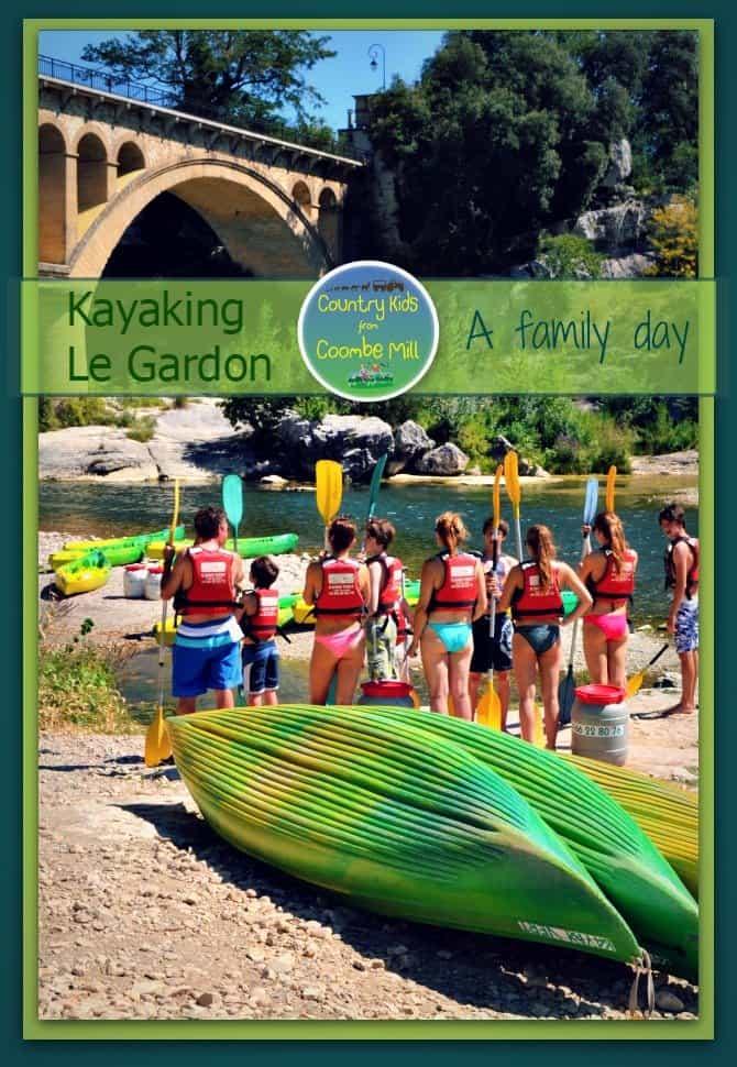 Kayaking on Le Gardon