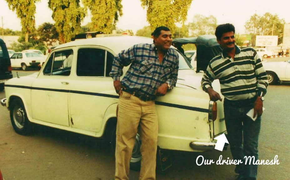 Manesh the driver of our Golden Triangle Tour | My Travel Monkey