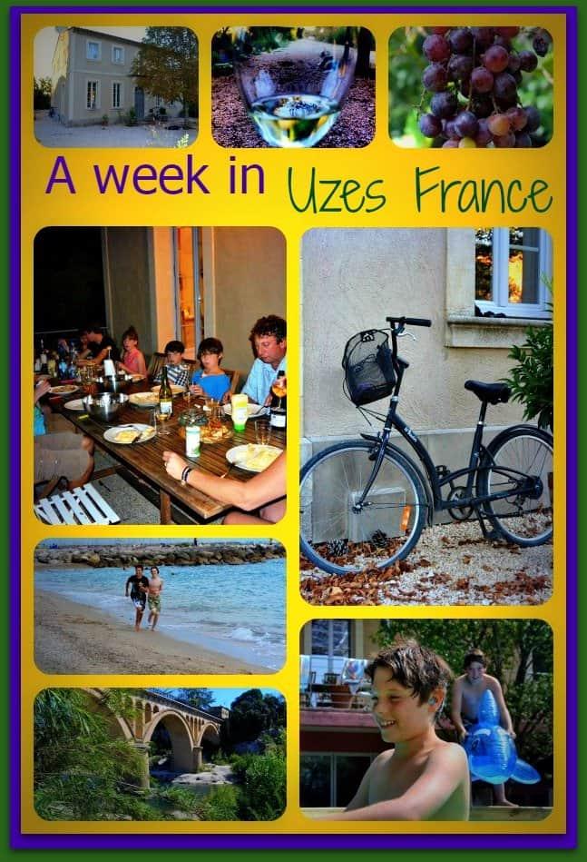 a week in Uzes
