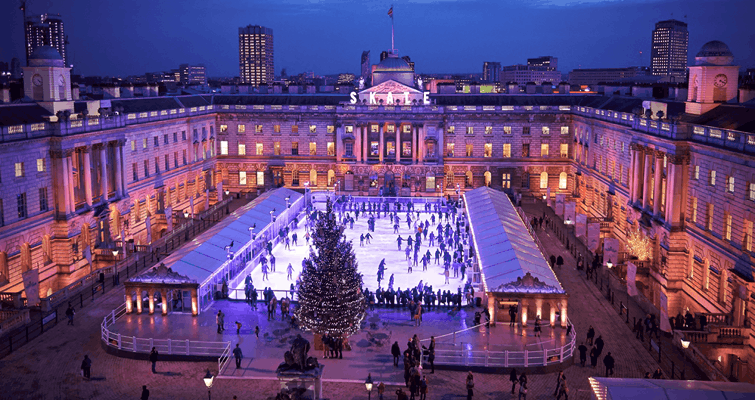 The Best Ice Skating Rinks To Take The Kids in London For 2017
