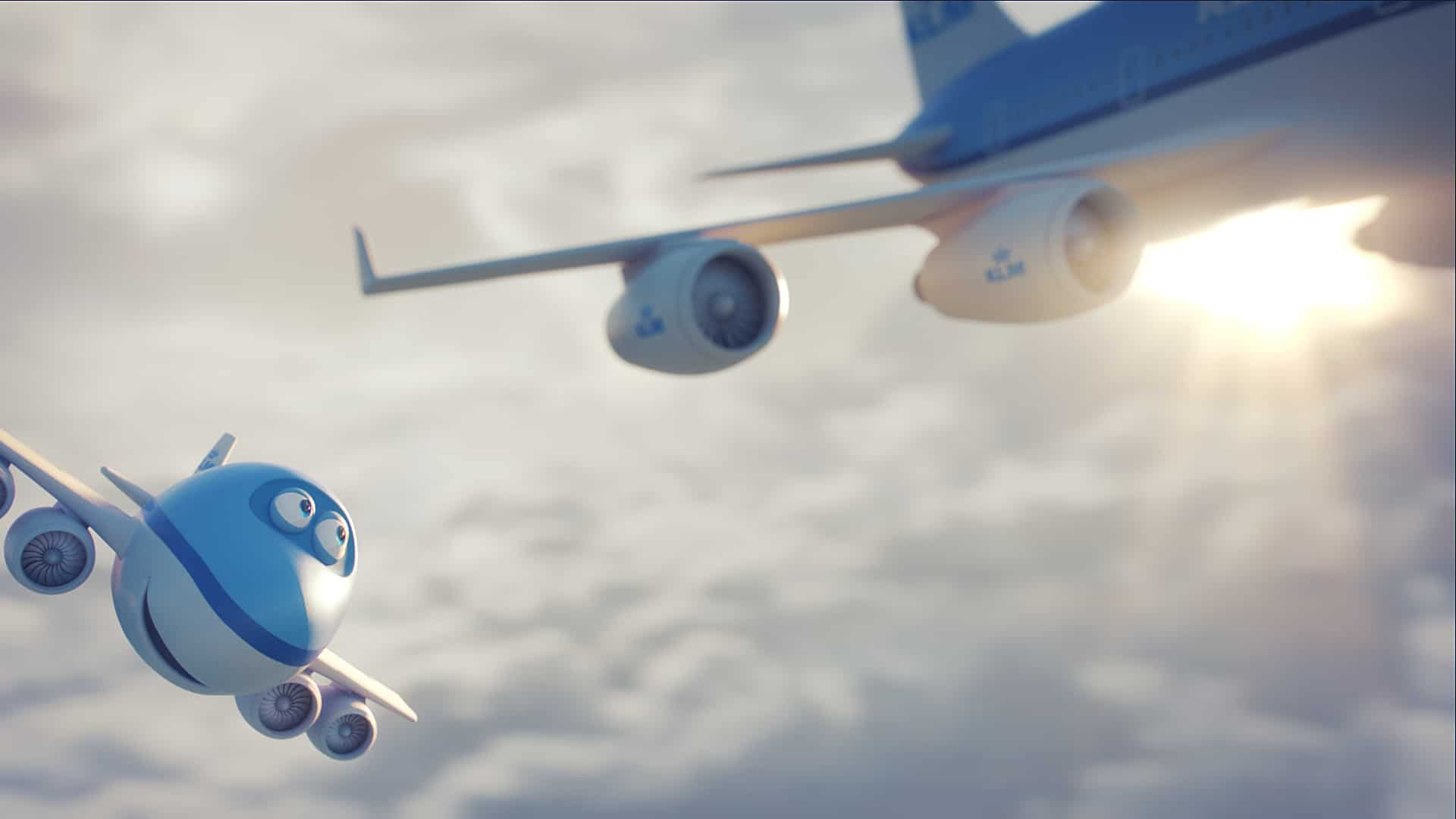 KLM launch Bluey The Movie