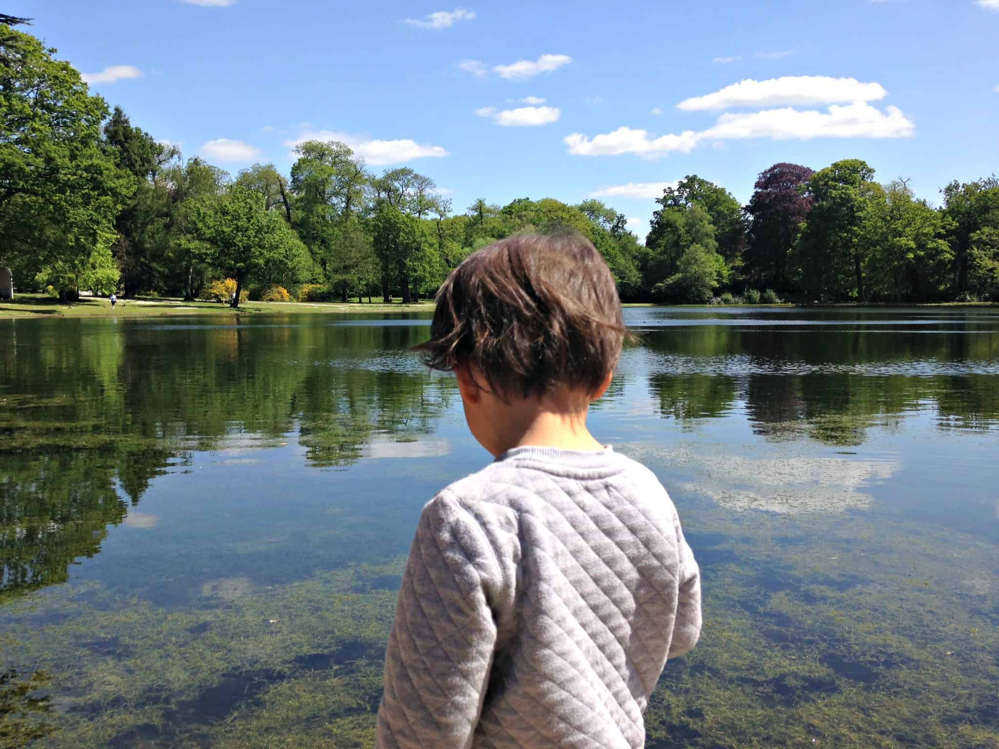 The lake at National Trust's Claremont Gardens in Surrey My Travel Monkey