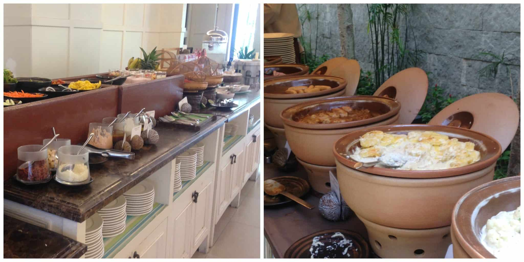 Breakfast buffet options | My Travel Monkey