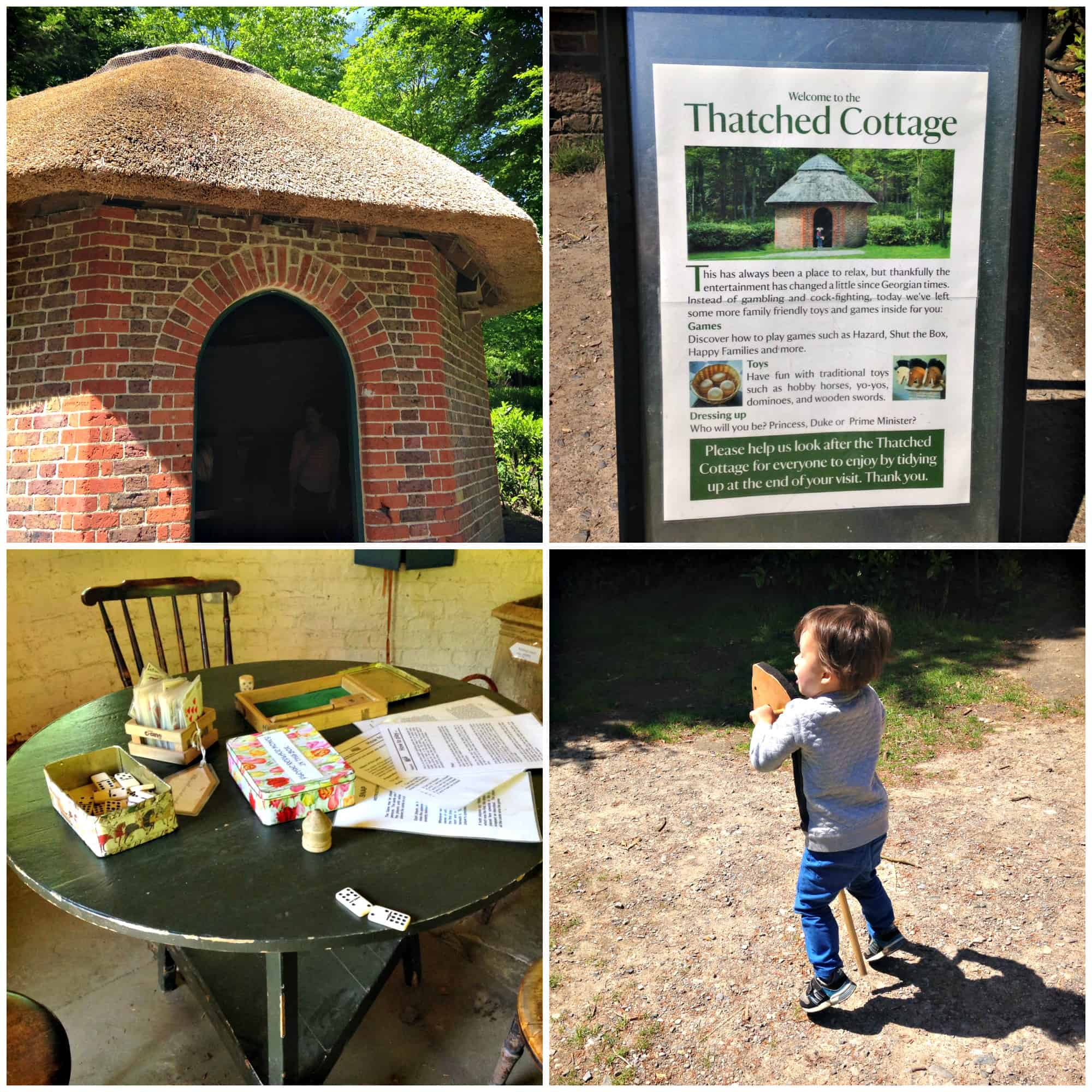 The Thatched Cottage at National Trust's Claremont Gardens in Surrey My Travel Monkey