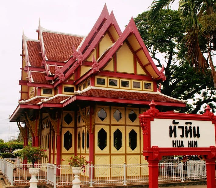 Hua HIn Railway Station - My Travel Monkey