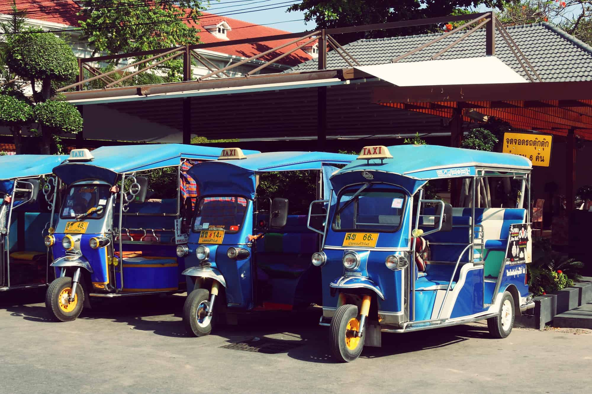 Tuk Tuks in Hua Hin | My Travel Monkey