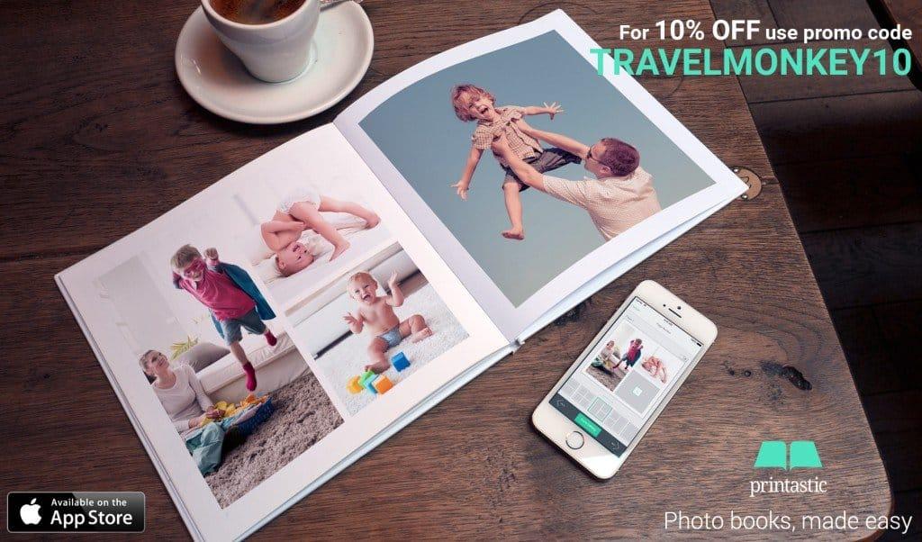 Printastic Photobook Discount Code! My Travel Monkey