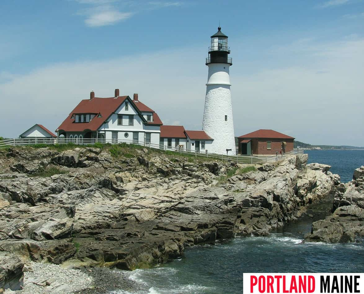 Portland Maine New England one of My Travel Monkey's USA Bucket List