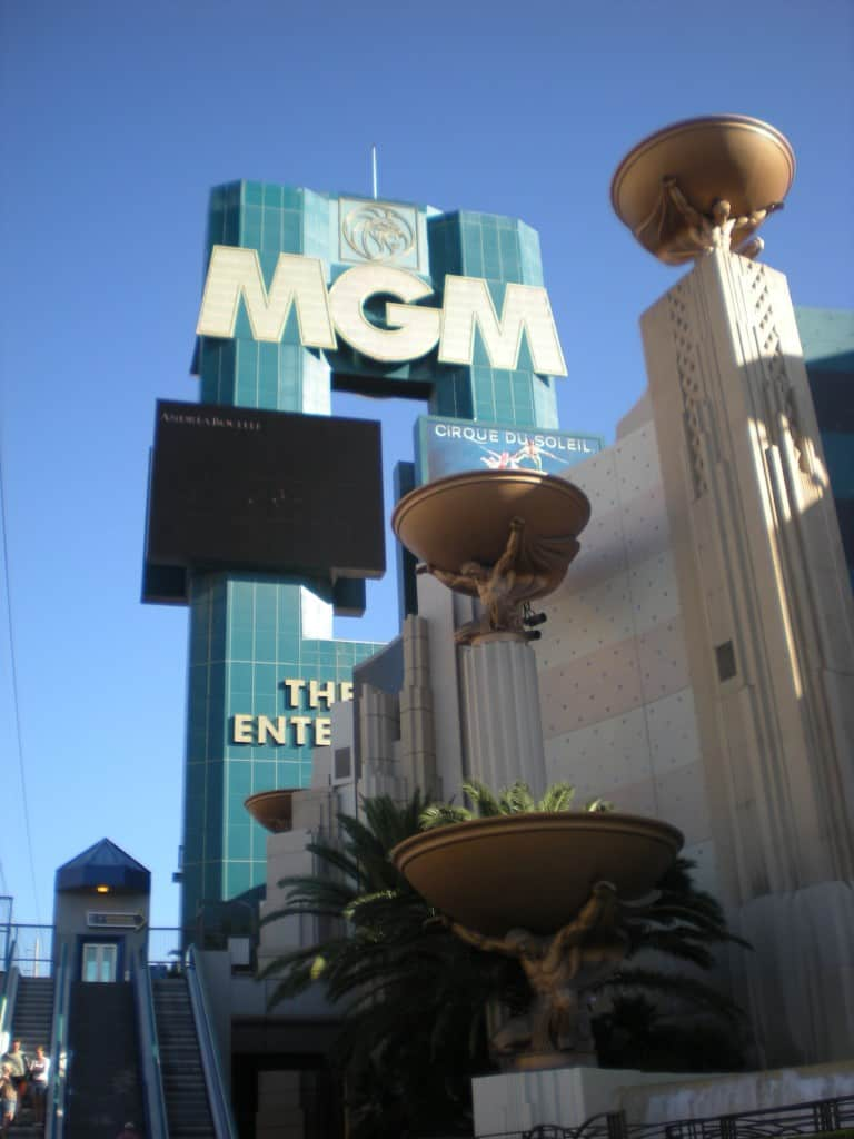 MGM Grand in Holiday Snapshots Las Vegas by My Travel Monkey