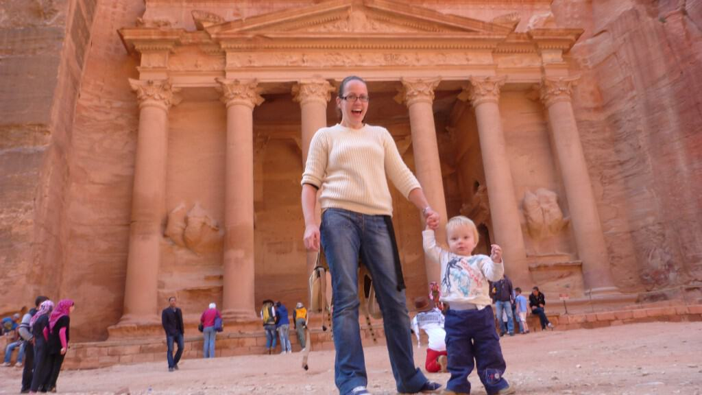 Holiday Snapshots in Petra, Jordan