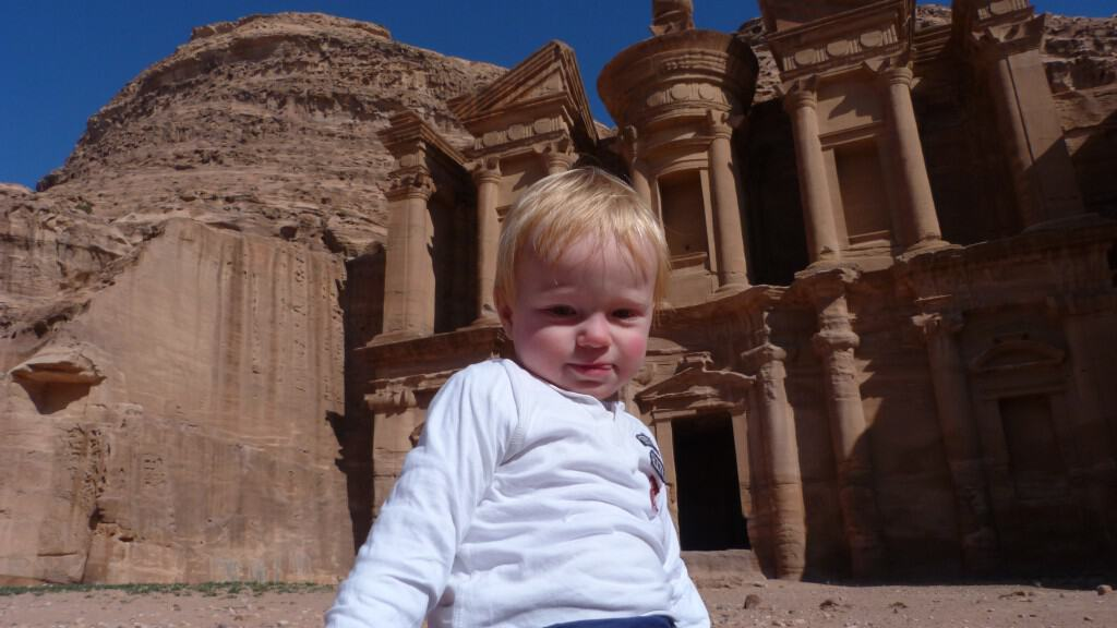 Petra With Kids | My Travel Monkey