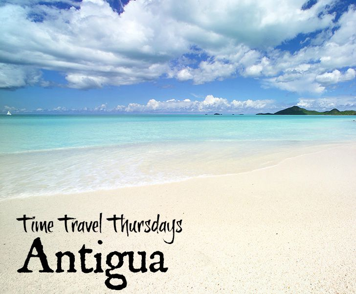 Coco Bay Beach in Time Travel Thursdays: Antigua With My Travel Monkey