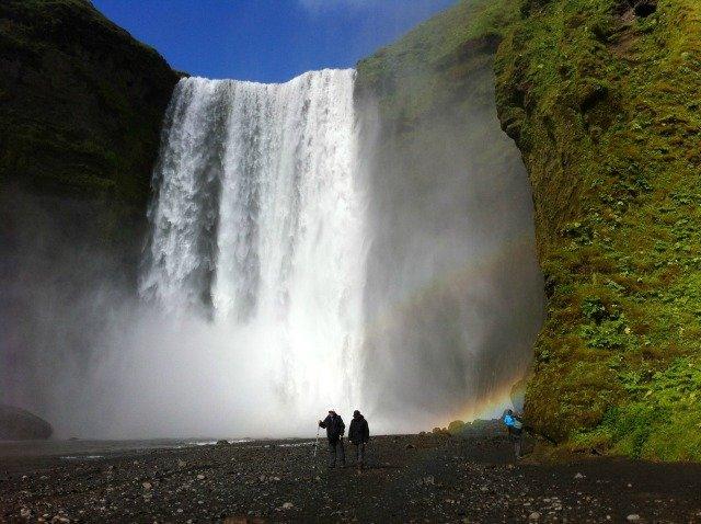 Skogarfoss on south coast of Iceland Holiday Snapshots My Travel Monkey