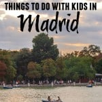 Top Six Things To Do With Kids In Madrid
