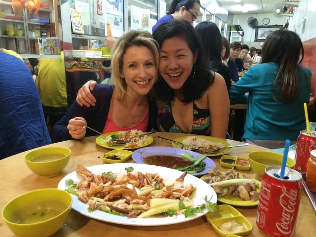 Enjoying food in Singapore | My Travel Monkey
