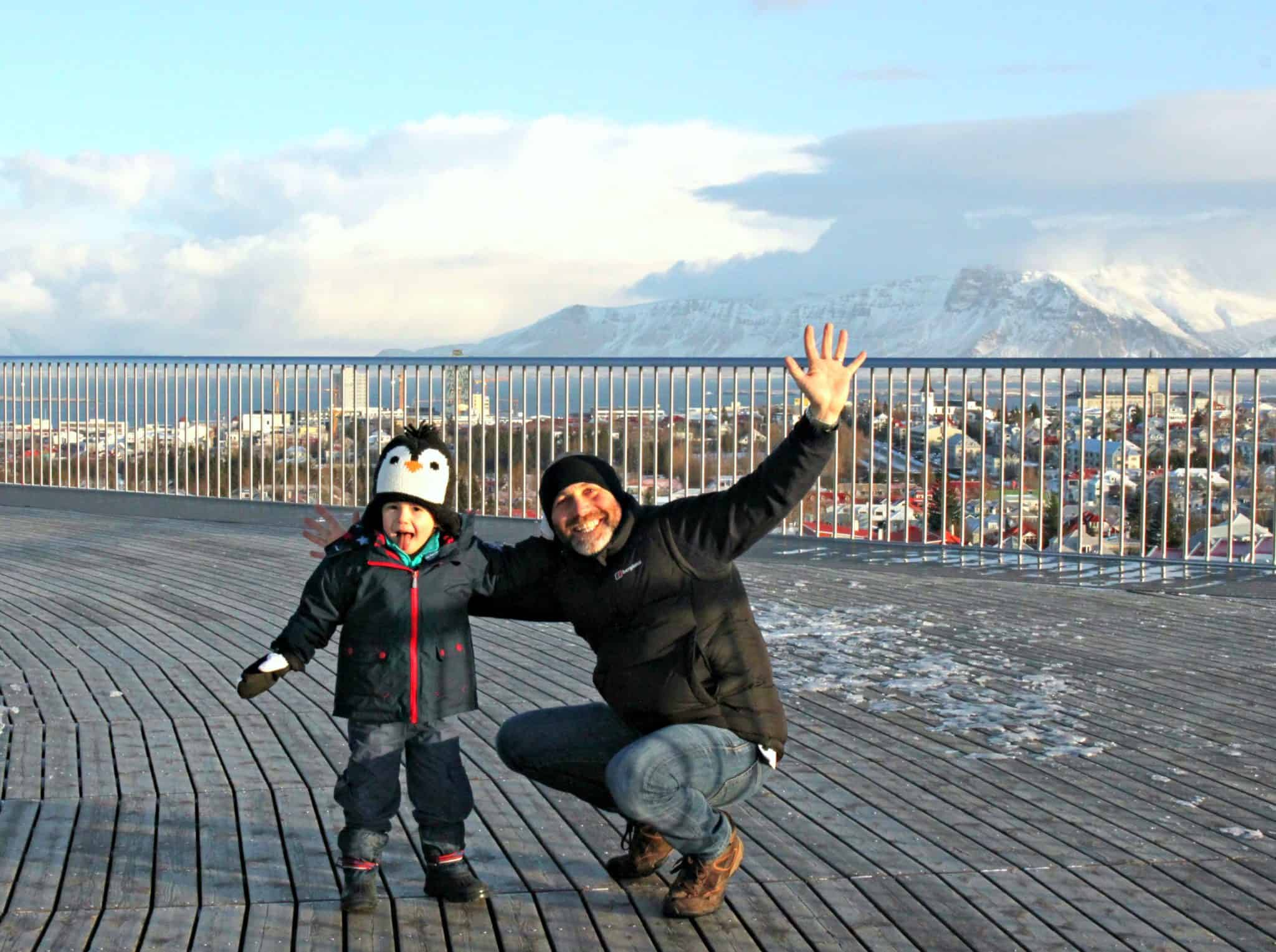 Perlan in Iceland With Kids