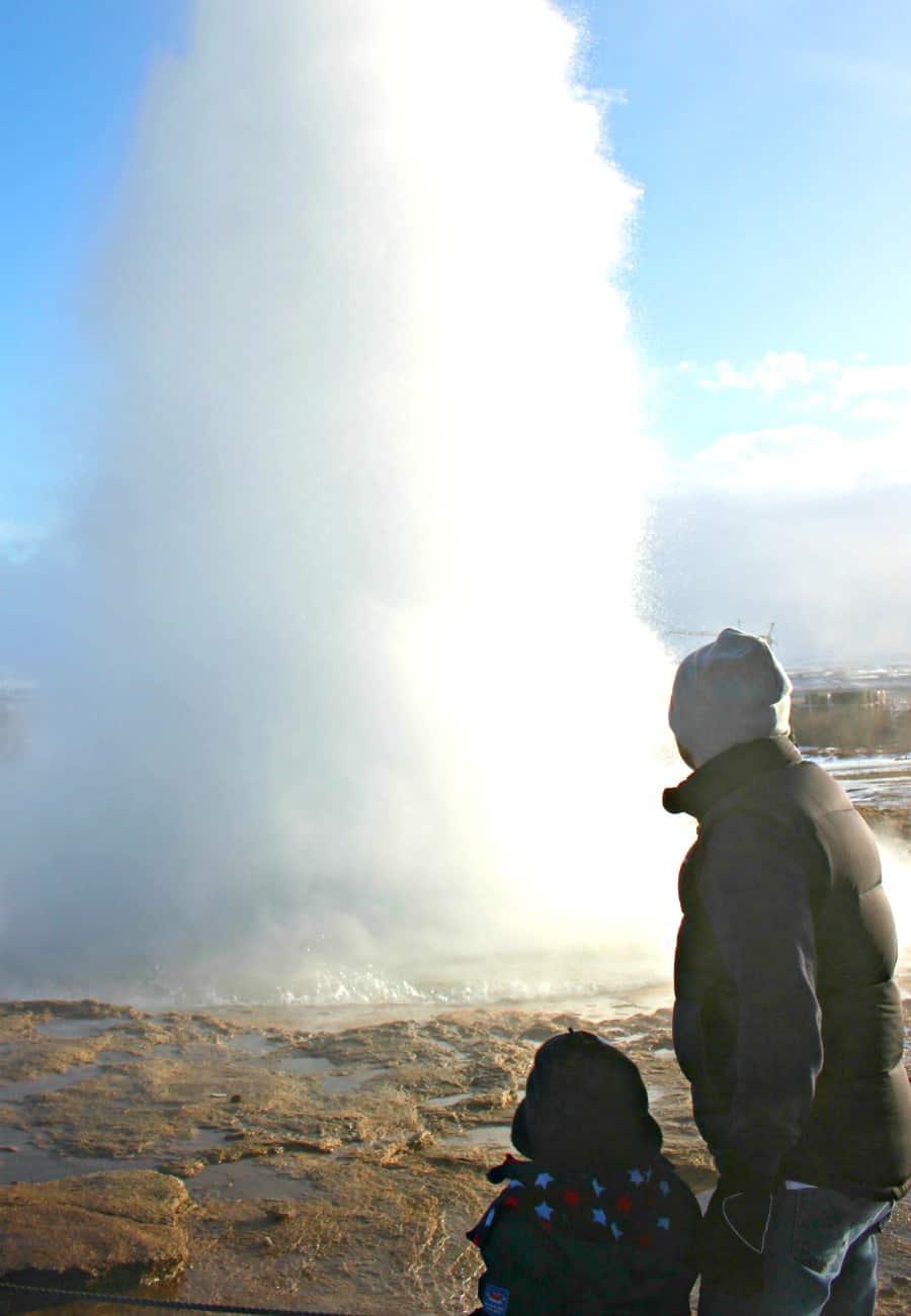 Watching a geyser erupt in Iceland | My Travel Monkey