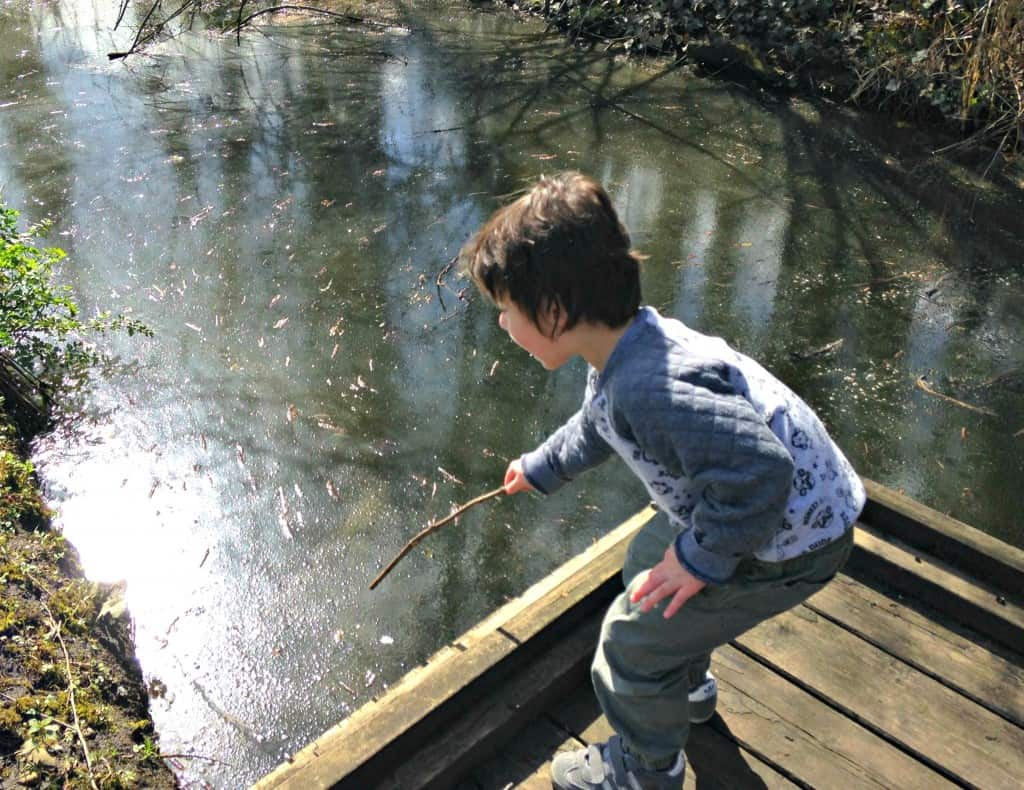 An Easter Egg Hunt at National Trust's Dapdune Wharf