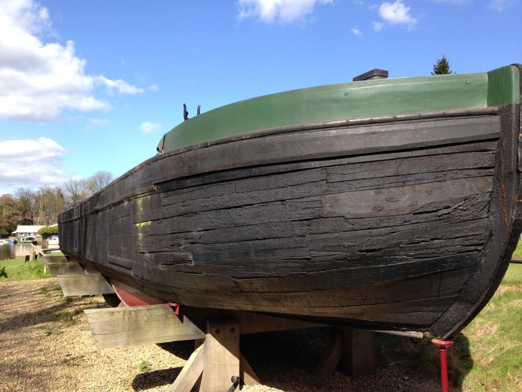 An Easter Egg Hunt at National Trust's Dapdune Wharf