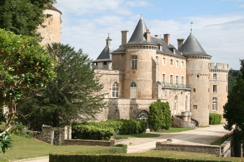 Taking The Burgundy Back Roads: Magical Castles