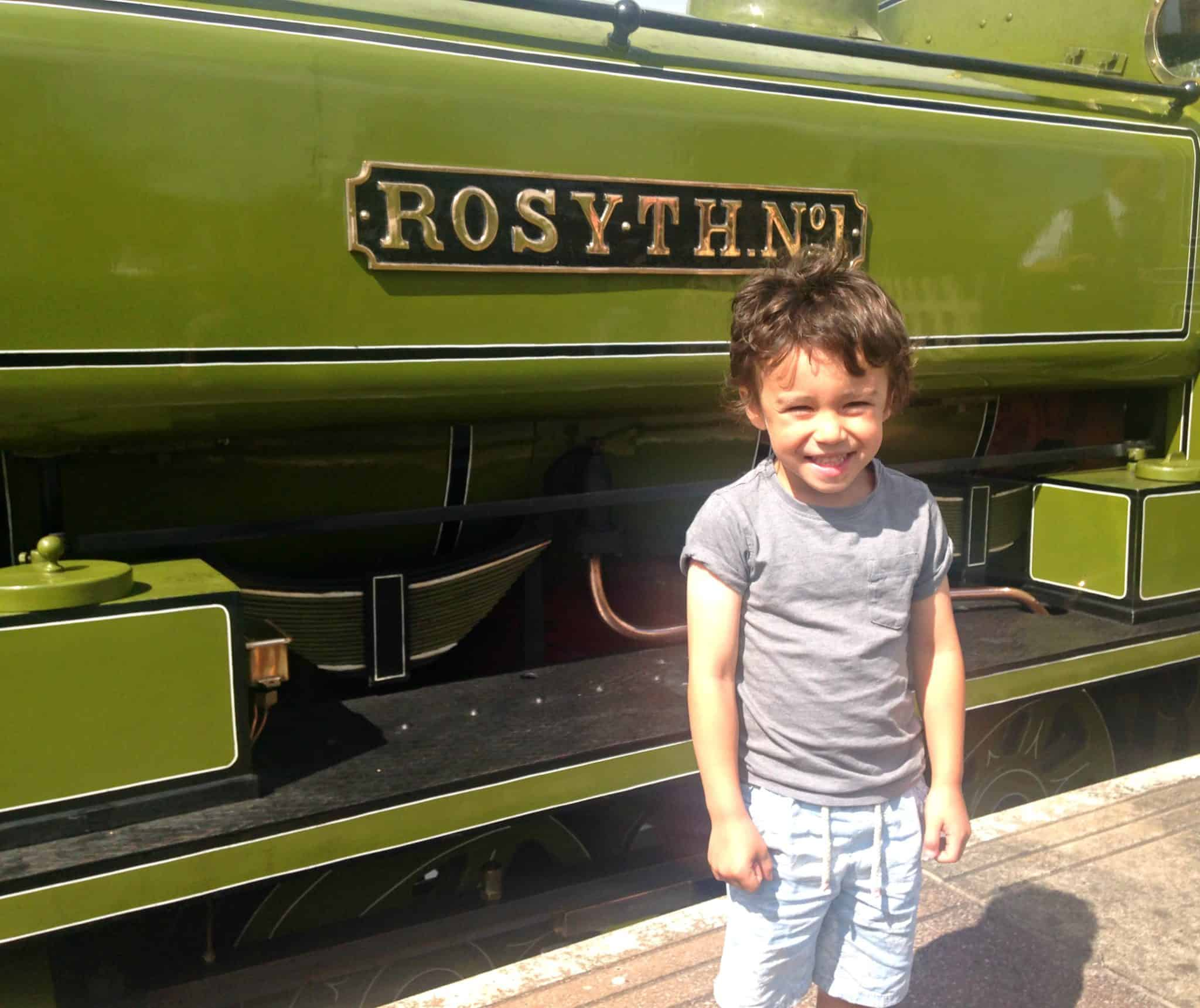 Riding The Chasewater Railway in Staffordshire