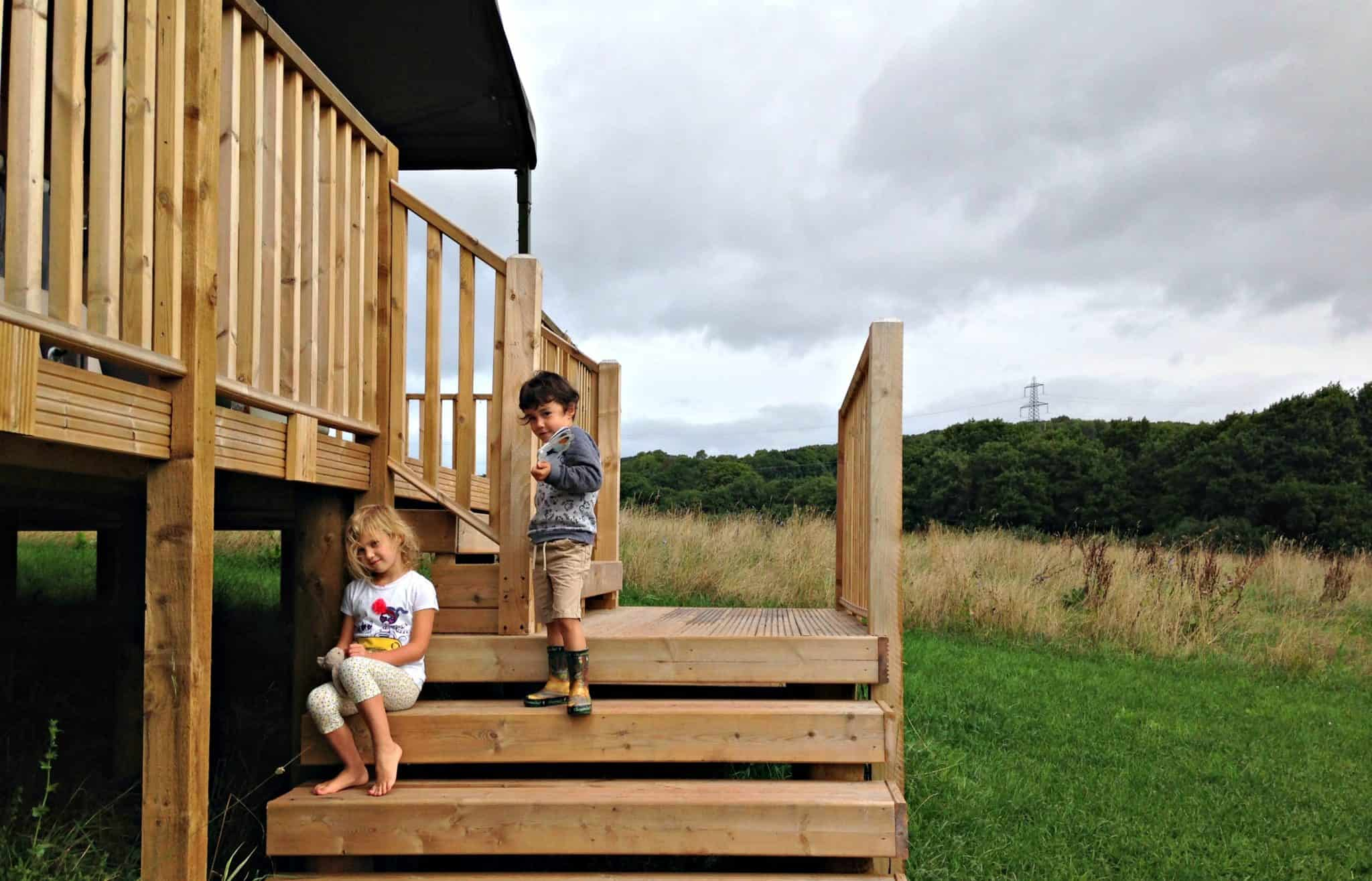 Glamping in Kittisford Barton, Somerset with Lantern & Larks