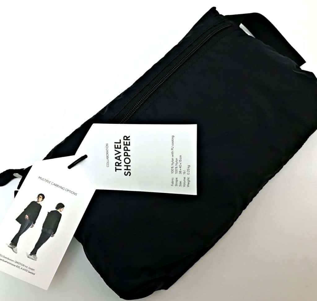 QWSTION Travel Shopper Review and Giveaway Worth £80