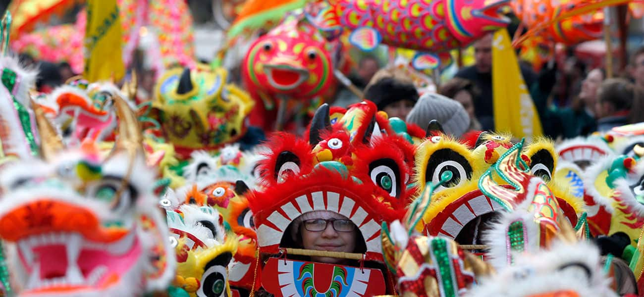 celebrating chinese new year in america essay The chinese new year's eve meal is the most important dinner of the year typically, families gather at a designated relative's house for dinner, but these days, many families often celebrate.