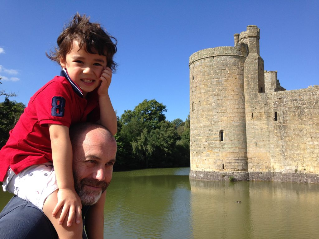 A family day out at National Trust's Bodiam Castle