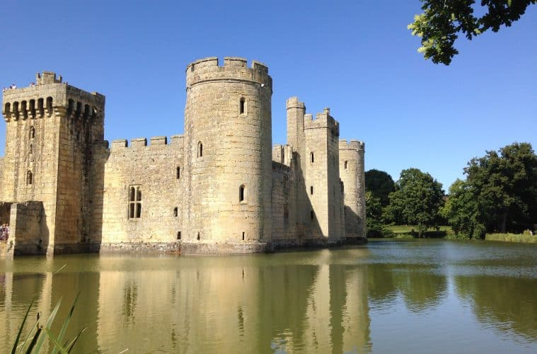 National Trust's Bodiam Castle | My Travel Monkey