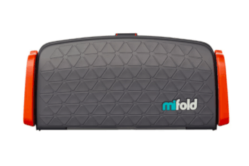 Travel Essentials - The Mifold Travel Booster Seat | My Travel Monkey
