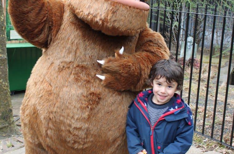 A Gruffalo Adventure at Chessington World of Adventures Resort in Surrey