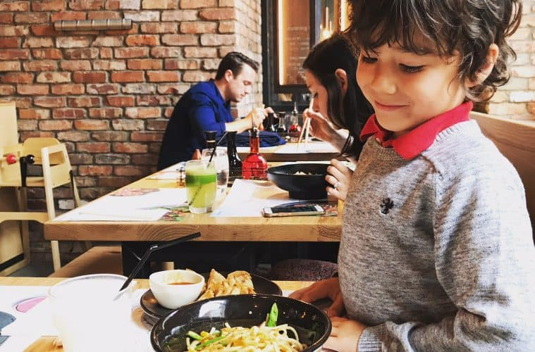 Yummy Noodles And KO Club Fun at Wagamama, Covent Garden, London