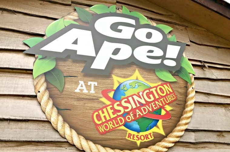 A Treetop Adventure With Go Ape Junior at Chessington World Of Adventures Resort