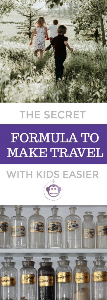 The Secret Formula To Making Travelling With Kids Easier...