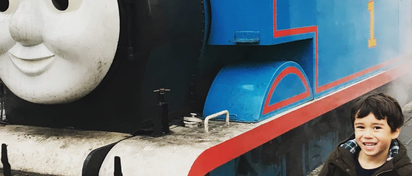 Riding Thomas The Tank Engine and Meeting Santa Claus at Didcot Railway Centre