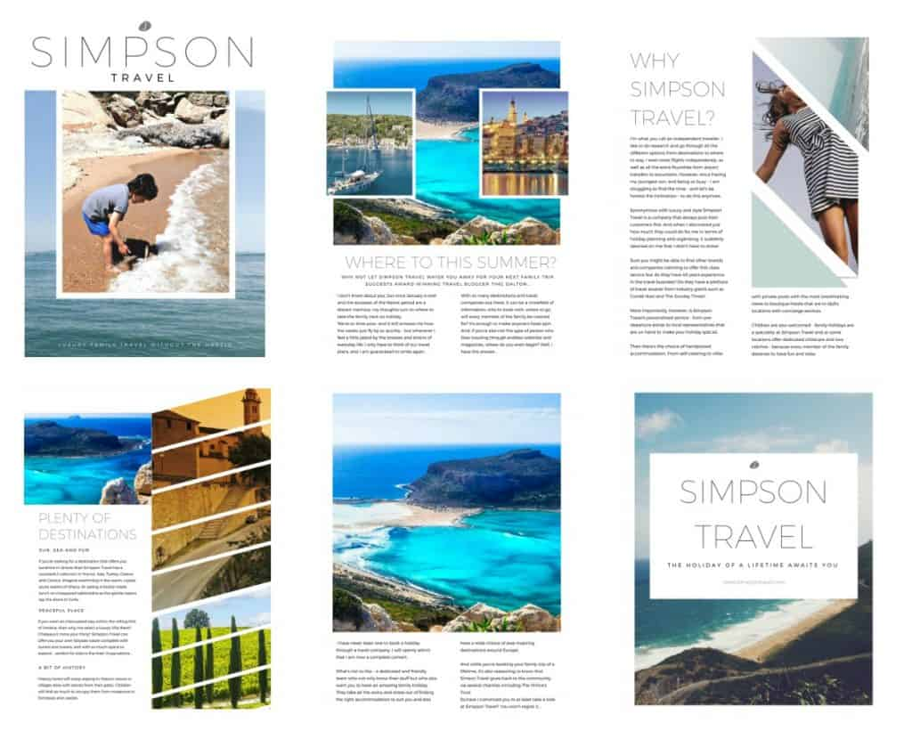 A New Way To Holiday - With Simpson Travel