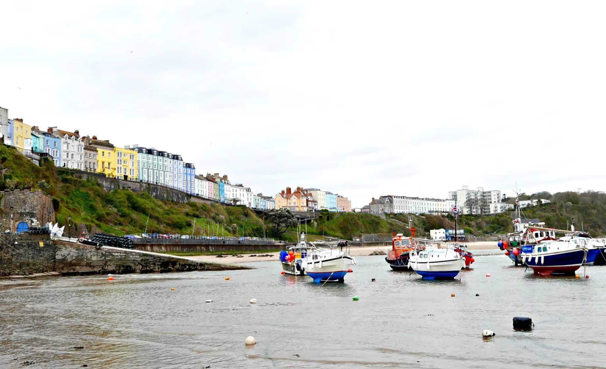 Boats at Tenby Harbour | My Travel Monkey