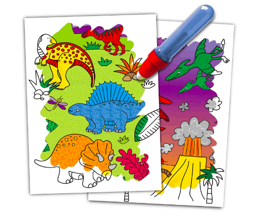 Magic colouring books | My Travel Monkey