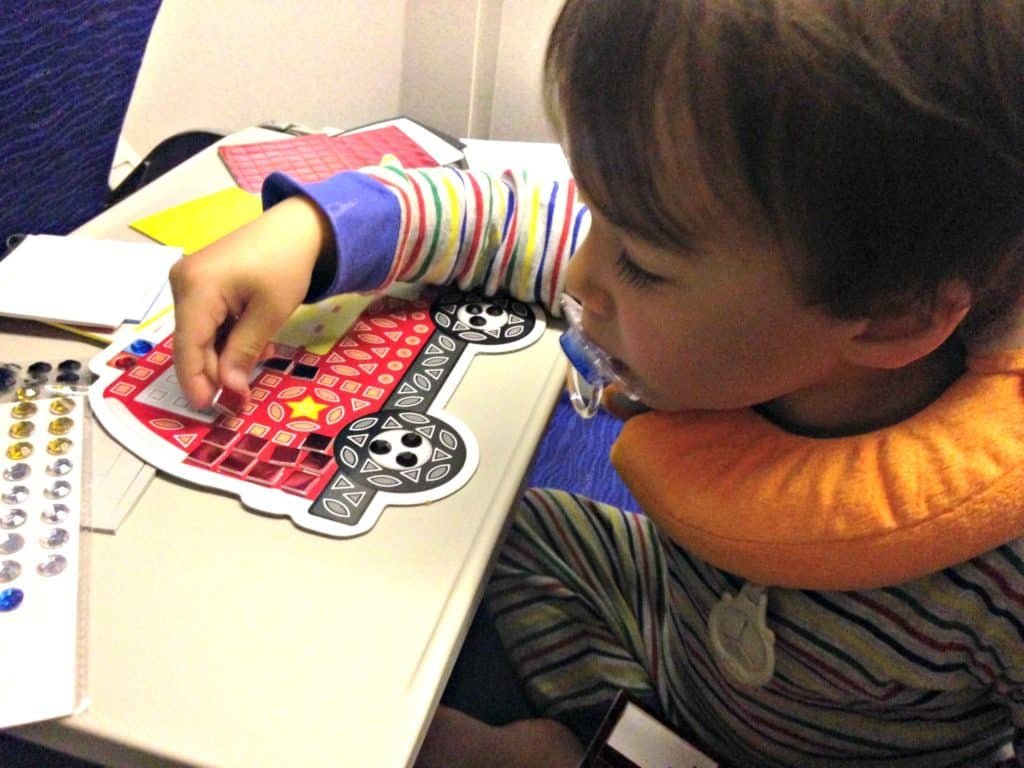 travelling with toddlers on long haul flights