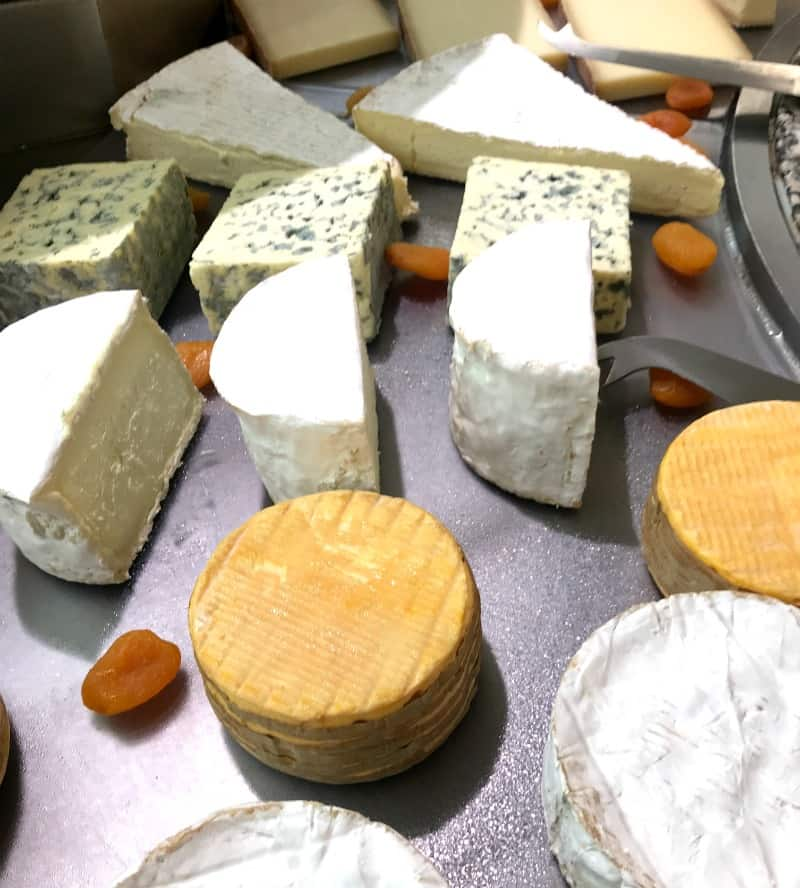 So much cheese onboard Les Abers | My Travel Monkey