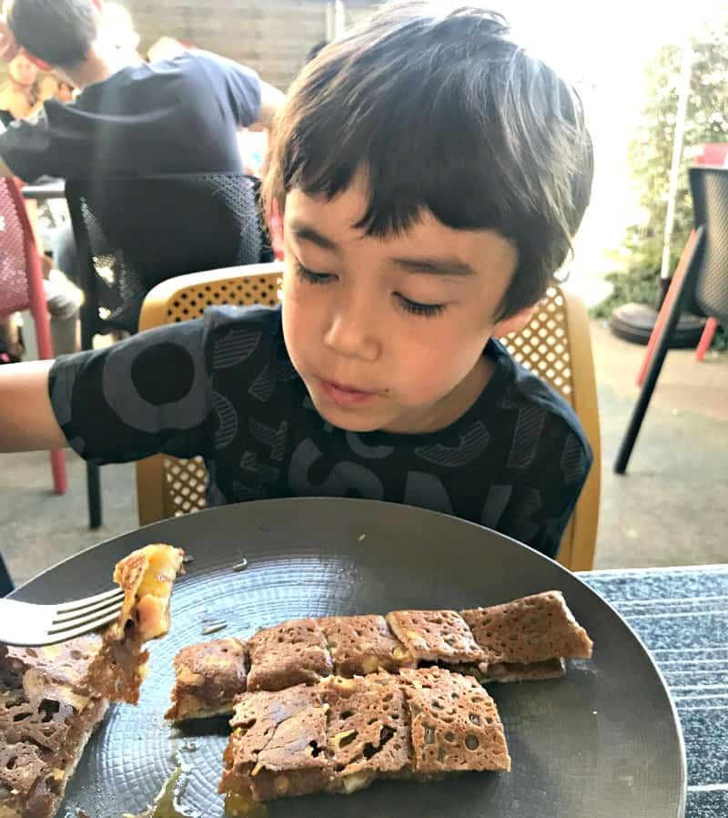Enjoying crepes | My Travel Monkey